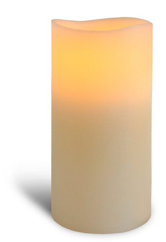 Ivory Pillar Candle - medium