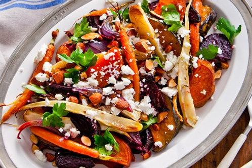 Medley of Roast Winter Vegetables