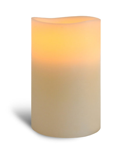 Ivory Pillar Candle - fat medium