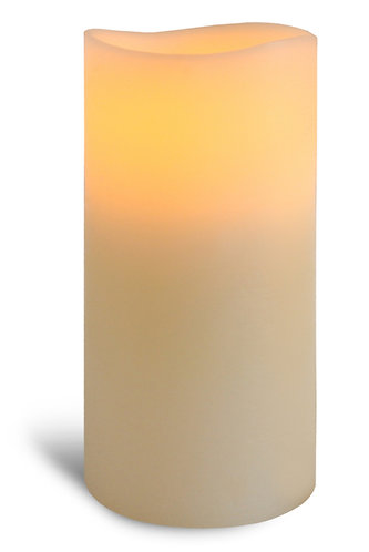 Ivory Pillar Candle - fat tall