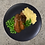 Thumbnail: Bangers and Mash, with Peas & Onion Gravy