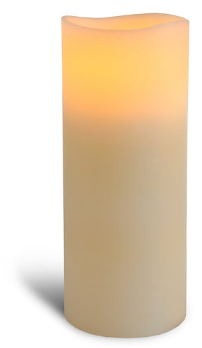 Ivory Pillar Candle - tall
