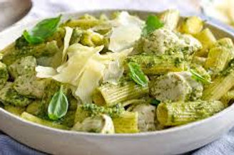 Chicken Pesto Pasta Rigatoni