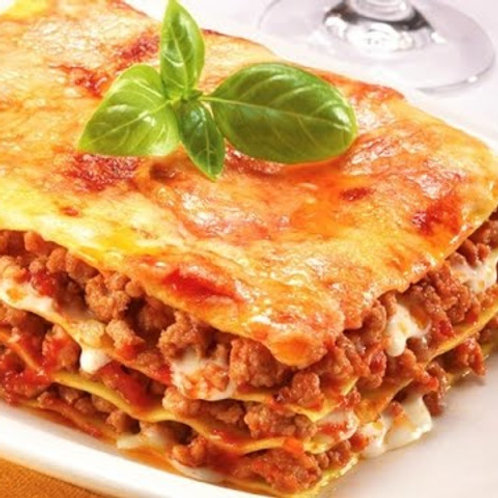 Beef Lasagne for FOUR