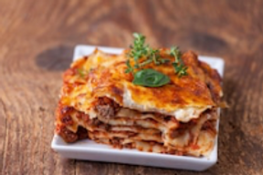 Beef Lasagne for TWO