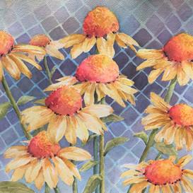 Yellow Coneflowers (Sold)