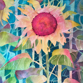 Solitary Sunflower (sold)