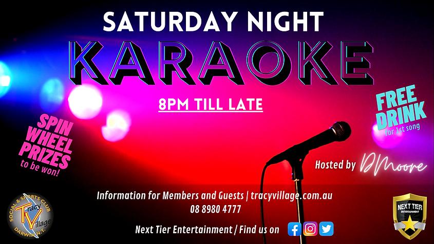 Copy of Copy of Friday Night Karaoke Tra