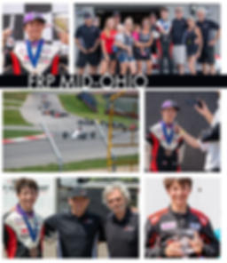 Bryce Aron Podium Celebration FRP Mid-Ohio