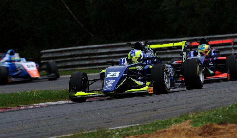 Bryce Aron F3 Race
