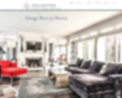 Website I created for an interior designer
