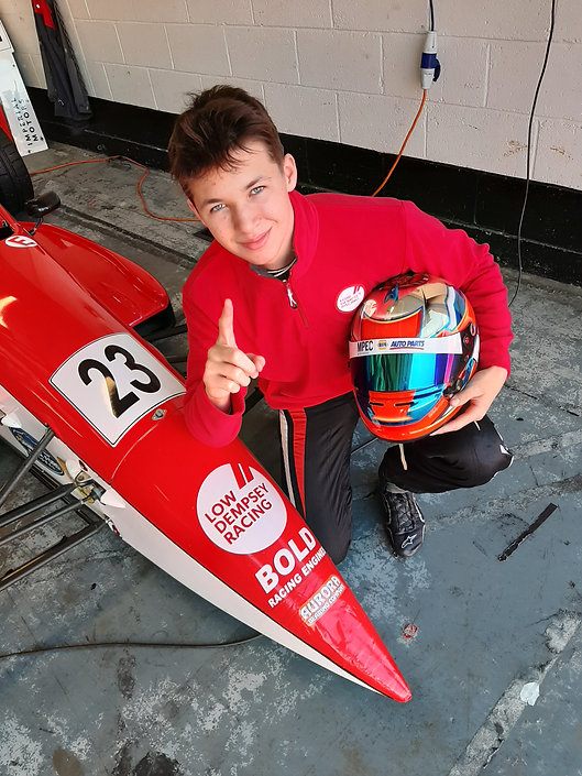 Bryce Aron Wins Pole at BRSCC National FF1600 Championship