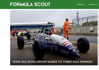 Formula Scout Team USA Bryce Aron