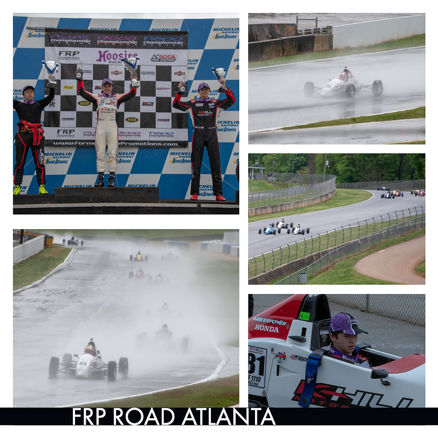 Bryce Aron Racing and Podium at Road Atlanta