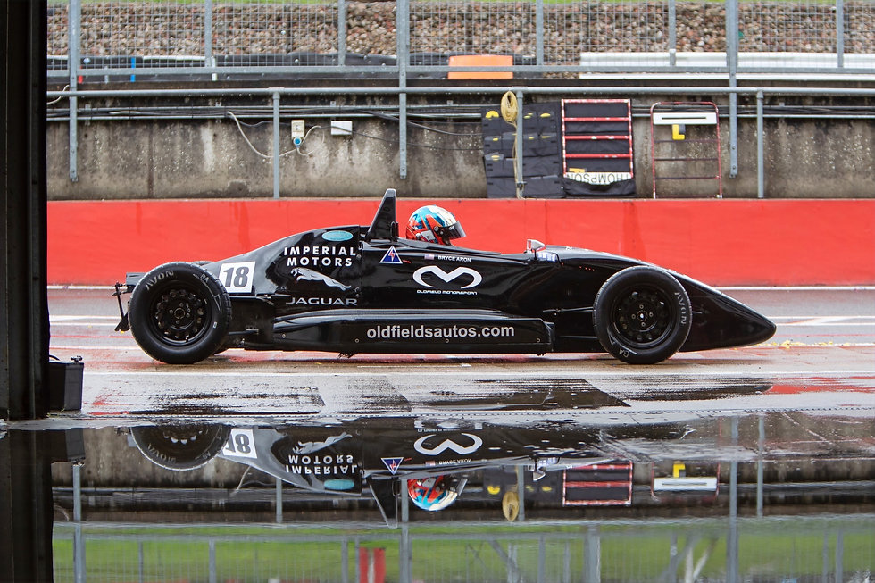 Bryce Aron Racing at Formula Ford Festival