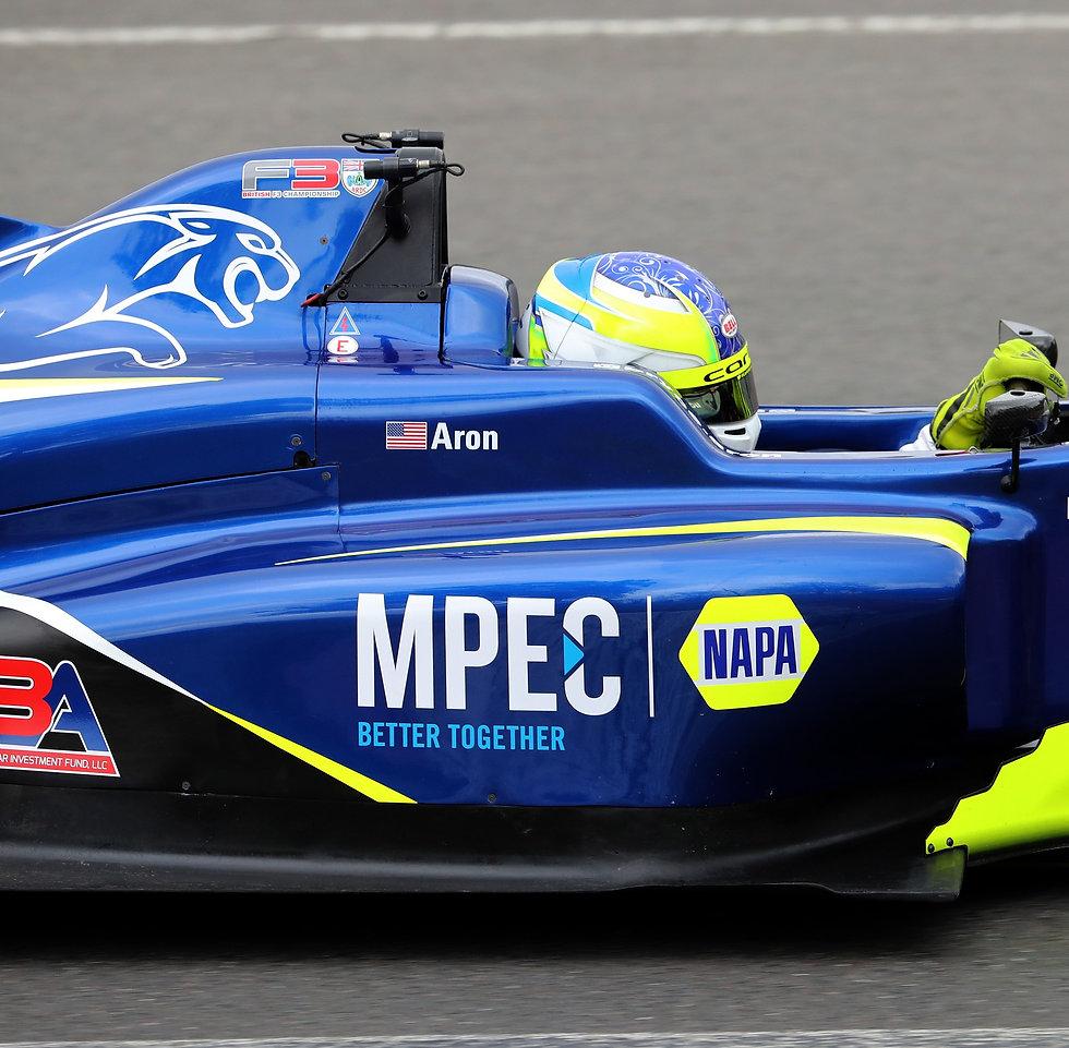 Bryce Aron Driving #23 MPEC|NAPA F3