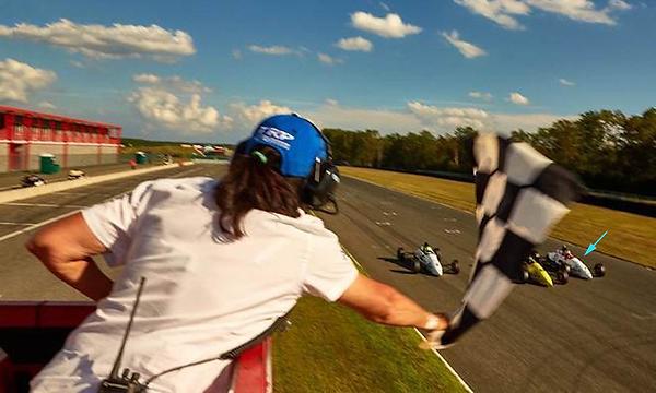 Bryce Aron Photo Finish Formula 1600