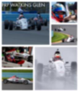 Bryce Aron racing at Watkins Glen