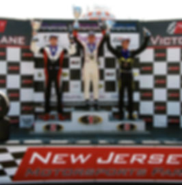 Bryce Aron Takes Second Place at NJMP