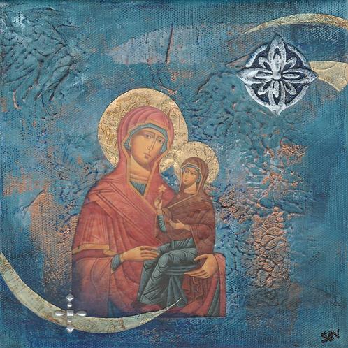 St. Anna - Original Canvas 8x8