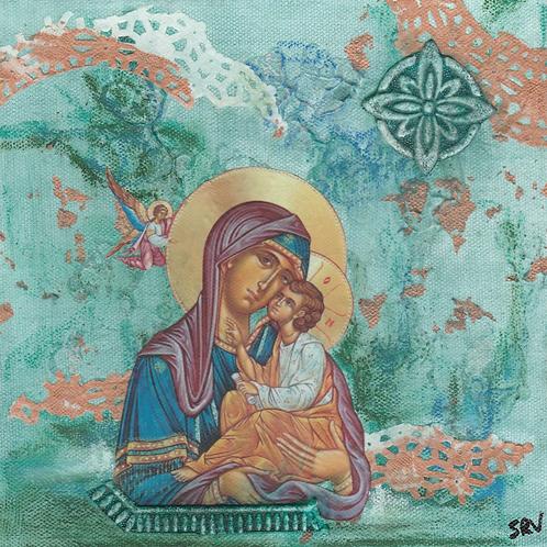 Panagia - Original Canvas 8x8