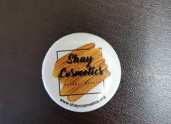 Shay Cosmetics Button Pin