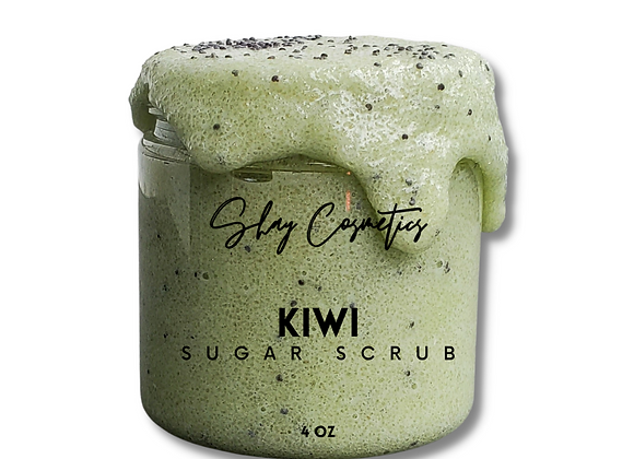 Kiwi Sugar Scrub