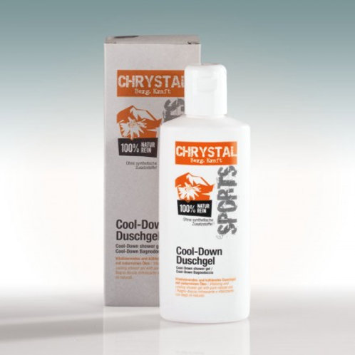 Chrystal Sports cool down Duschgel