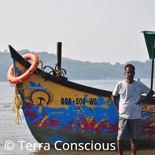 Donation for a training course on sustainable tourism for a boat operator in Goa
