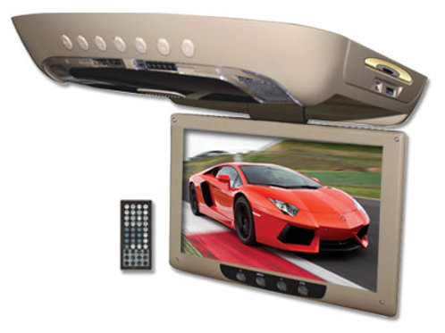 Ceiling Mount Monitor, Built-in DVD Player