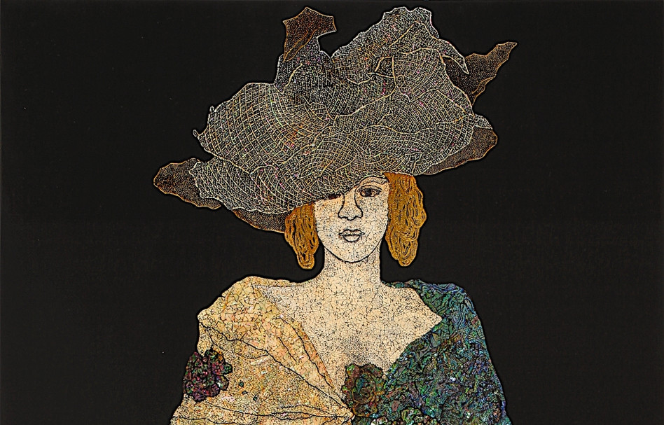 Woman with an umbrella, 2011
