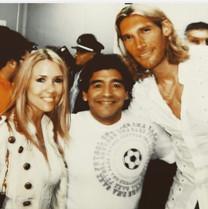 Walter, Elena & Maradona!