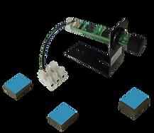 sensor seletor ótico com ímãs