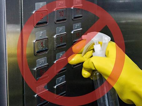 Curto nas botoeiras dos elevadores? Saiba como prevenir.