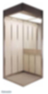 Decoração cabine elevador