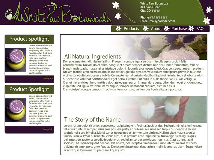 About White Paw Botanicals