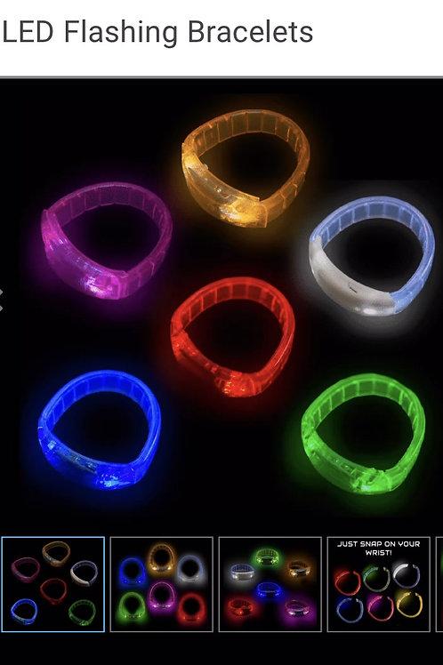 GlowUP LED Flasher Bracelets