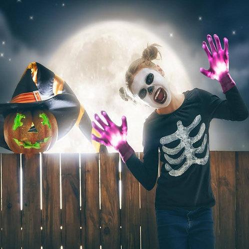 GlowUP LED Skeleton Gloves