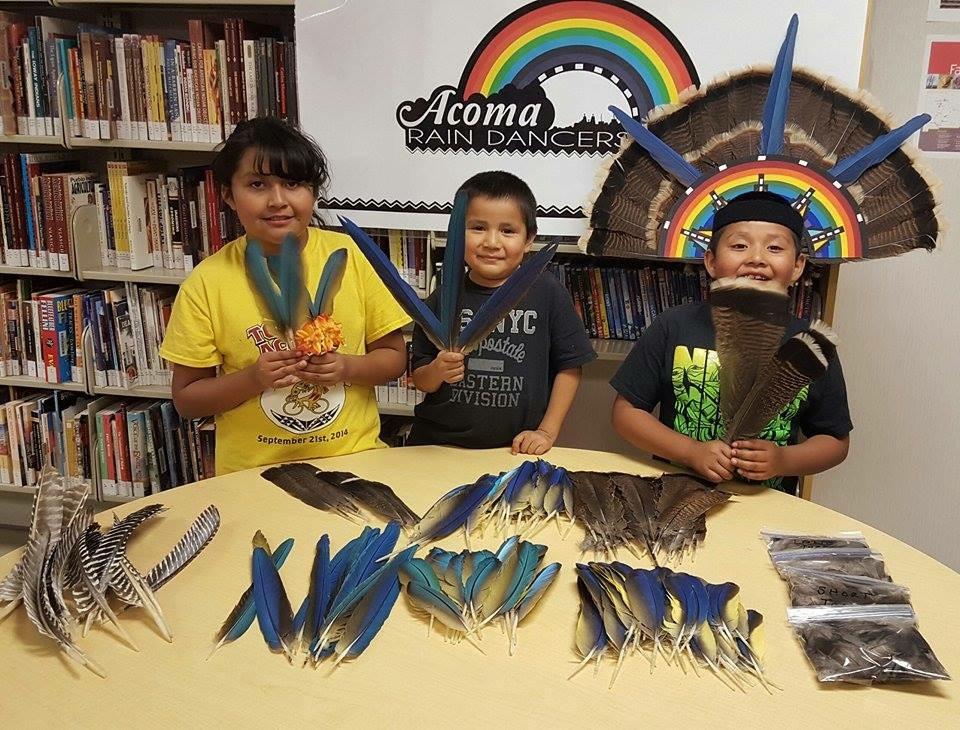The Acoma Rain Dancers from Acoma