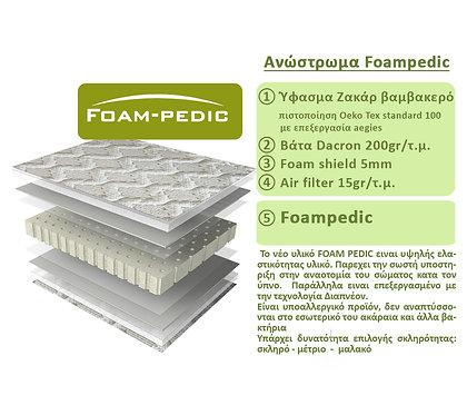 Ανώστρωμα Foam pedic