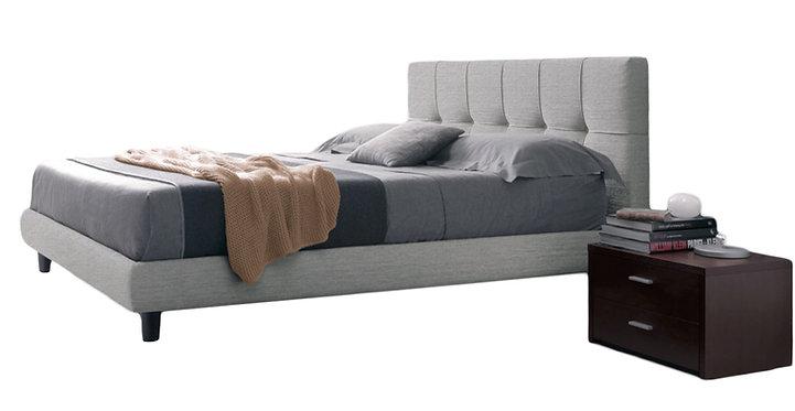 Χειροποίητο ντυμένο κρεβάτι Αθηνά