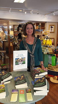 Author of the Gilded Newport Mysteries