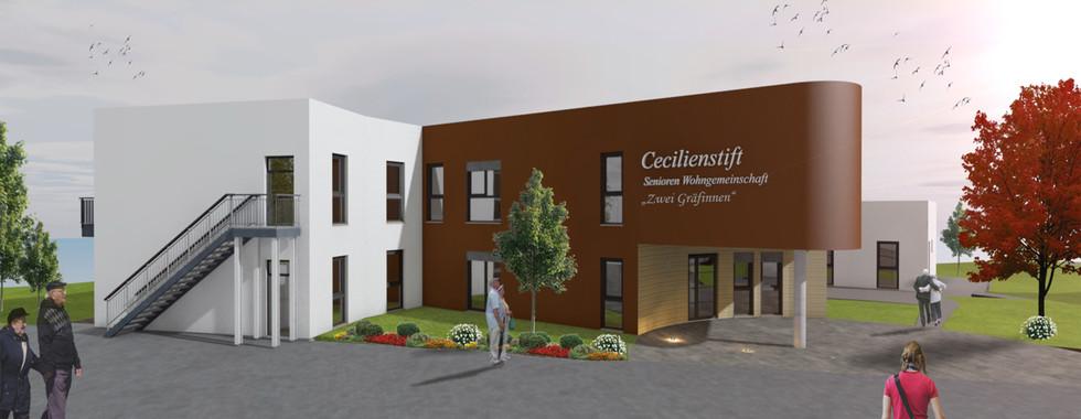 Neubau einer Ambulant betreuten Wohngemeinschaft