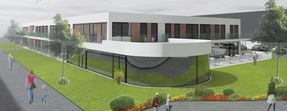 Neubau eines Wohnquartiers