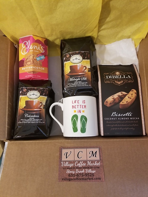 Special Occasion Ground or Whole Bean Coffee Gift Set