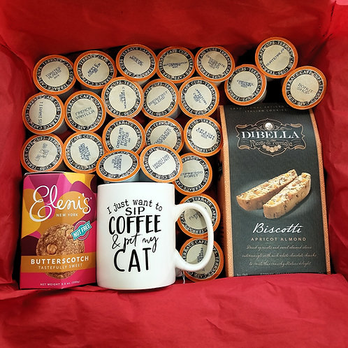 Cat and Coffee Gift Set