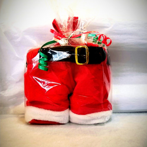 Santa Pants  with 16 K-Cups