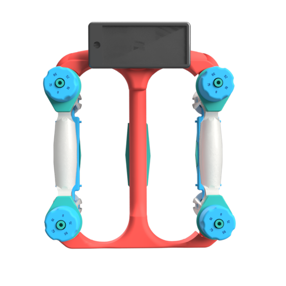 DynaWheel - gamified rehabilitation device