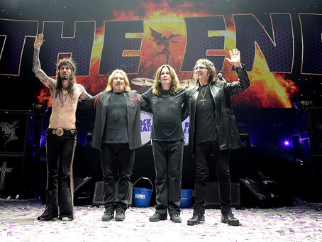 """Black Sabbath: The End of The End"" no Cine Roxy"