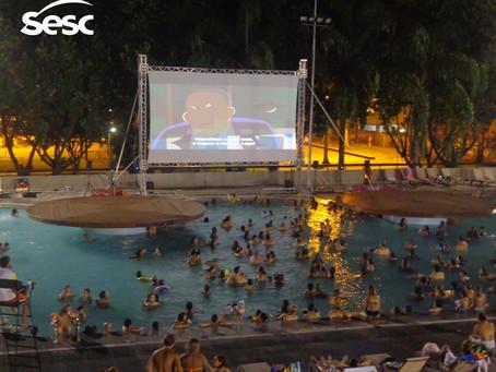 Sesc Cine Piscina 2015 Programação